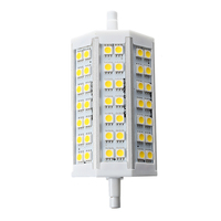 R7S J118 10w LED Dimmable Warm White Colour Replacement For Halogen Bulb 42 SMD 5050 Energy