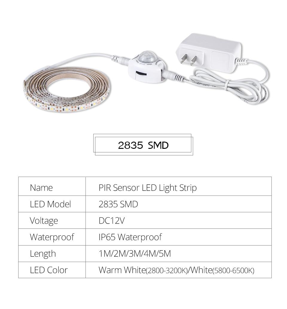 PIR LED Strip light (2)