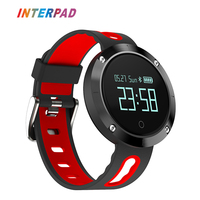 Interpad New DM58 Smart Watch Clock Men Women Sport Bluetoth Smart Wristband With Blood Heart Rate