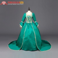 High Quality Marie Antoinette Renaissance Princess Ball Gown Masquerade Dress Theater Clothing