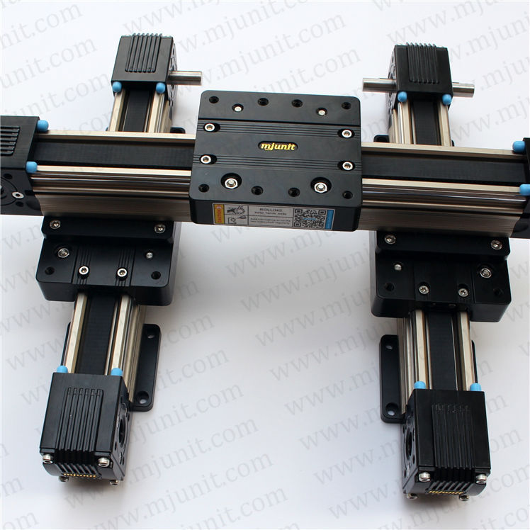 Rail Guideway System Flanged Square Slide Linear Motion XYZ linear stage linear shaft support rail nema 23 xyz stage manual actuator medical motor electric guideway toothed belt driven