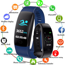 Nueva pulsera inteligente de CHENXI, reloj inteligente de pantalla de Color para hombre, relojes de pulsera inteligentes digitales para hombre, F64, Bluetooth para iOS y Android(China)