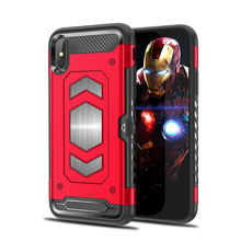 Roc Joan Hard Armor Case For iPhone X 10 6 6s 7 8 Plus XR XS Max Anti Shock With Card Pocket Car Magnetic Protection Cover Coque roc max resurfacing