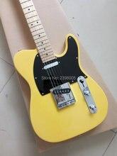 Tl de la guitarra eléctrica de China de la venta caliente, color amarillo, envío libre tele guitarra, 22 trastes edición limitada clásico 53 tl guitarra st guitarra