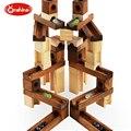 ONSHINE 60 шт. Дети деревянные шарики строительные блоки/Дети мяч куб эволюции блоки с Английскому языку образовательные игрушки