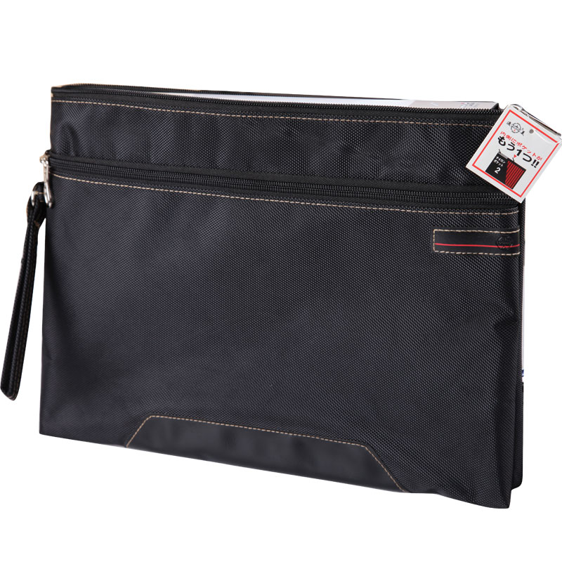 Dumei Documents Bag The Folder For Documents A4  Bottom Oxford Cloth Fabricthe Folder File Pocket Office School Supplies NF-396