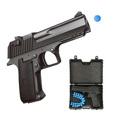 Лидер продаж сплав мини пистолет детское игрушечное ружье игры на открытом воздухе Fireable BB мягкий бомба Снайпер пистолет мальчик игрушки рождественские подарки
