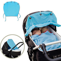 1 Pcs Comfortable Soft Baby Stroller Protector Sunshade Tool Security Sun Cover Portable Stroller Accessories Outdoor
