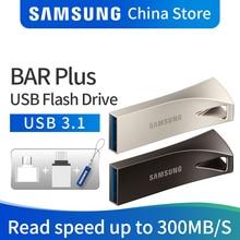 SAMSUNG флэш-накопитель USB 32 Гб 64 Гб 128 ГБ 256 ГБ USB 3,1 3,0 Металлический Мини-накопитель Флешка карта памяти устройство для хранения U диск