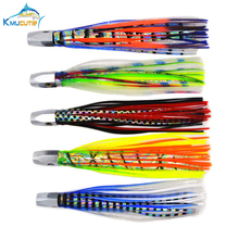 8 Inch 88g Big Game Tournament copper Head Skirt Trolling Marlin fishing Lures