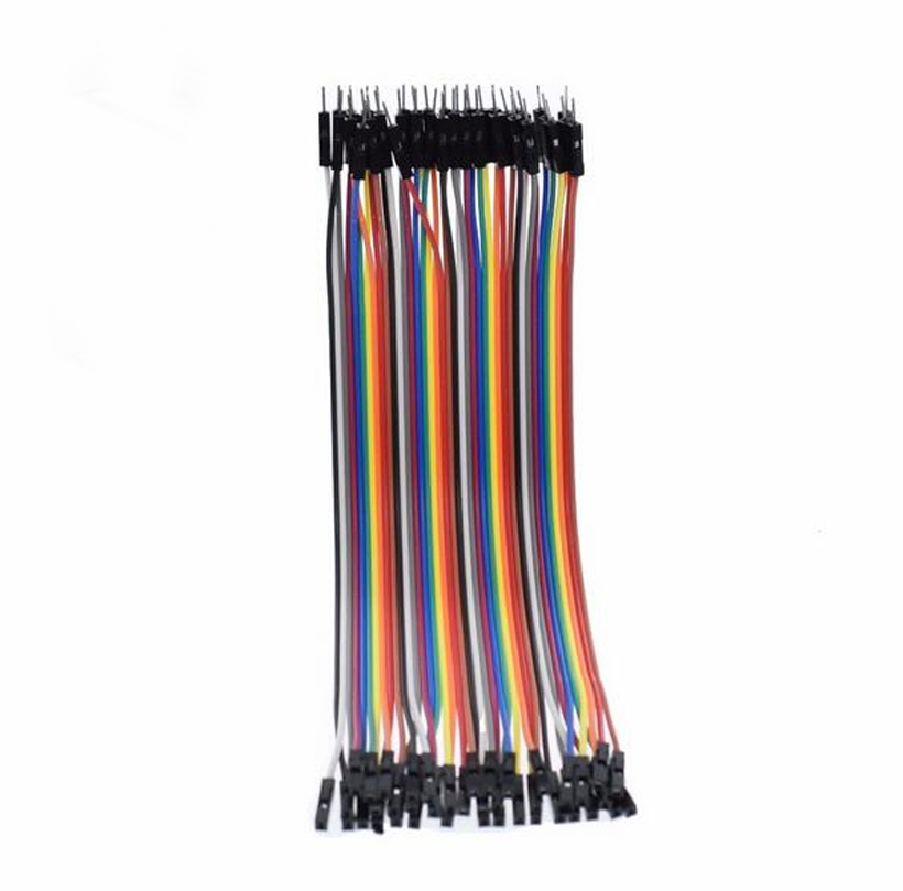 40p 20cm  Dupont  Male To Female  Jumper Testing Cable Line Breadboard Wire Dupont Connectors 1P-1P M-F Wires For Arduino