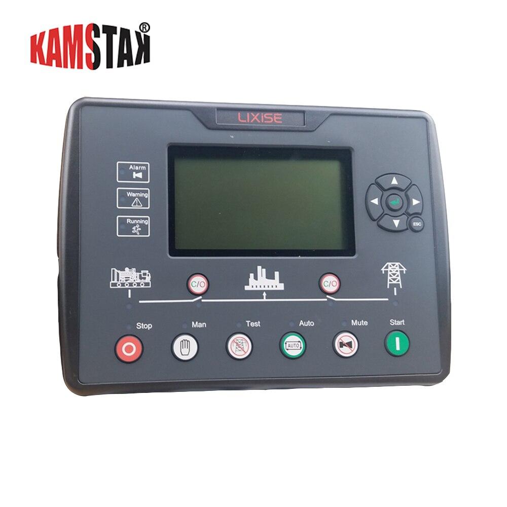 Contrôleur de groupe électrogène diesel AMF LCD contrôleur de démarrage automatique pièces de groupe électrogène panneau de circuit électronique LXC6120E