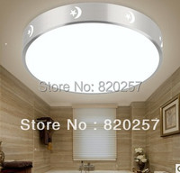 Round Mordern 18W SMD Led Ceiling Light With Aluminum Ring AC85 260V Cool White Warm White