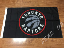 Toronto Raptors Flag 3×5 FT 150X90CM Banner 100D Polyester NBA flag , free shipping