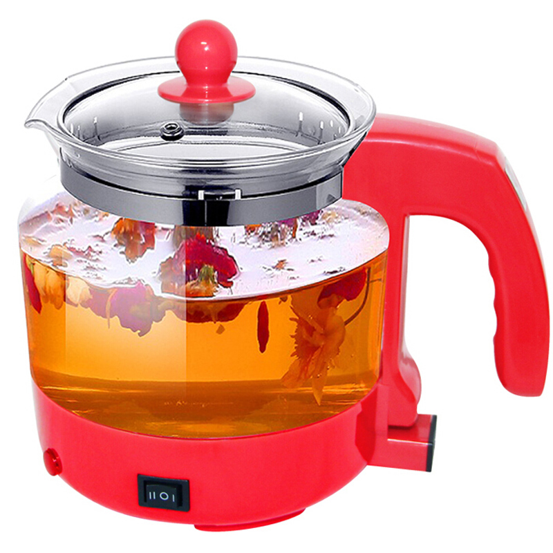VOSOCO Electric kettle Health preserving pot 1.5L 410W Multifunctional teapot tea pot boiled split glass health pot water bottle electric kettle health care cup electric hot mini glass health pot office smart water brew teapot