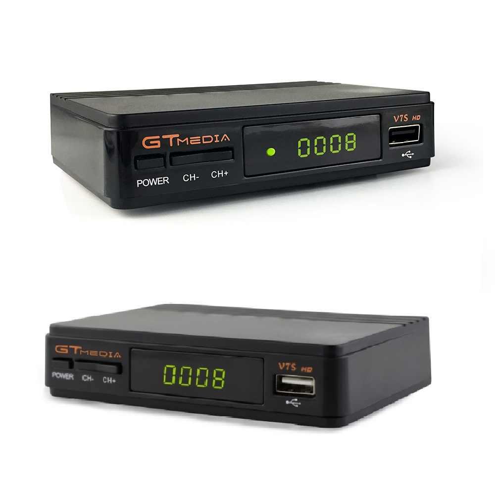 1 год Европа 7 резких перемен температуры сервер GTMedia V7S HD цифровой CCcam спутниковый приемник DVB-S2 V7S полный 1080 P + USB WI-FI обновления Freesat V7