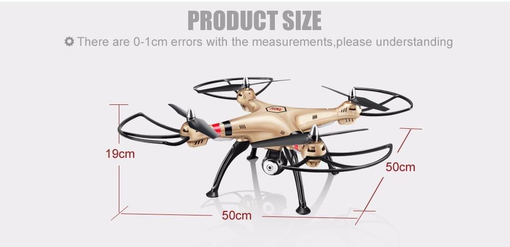 SYMA Professional UAV X8HG X8HW X8HC 2.4G 4CH RC Helicopter Drones 1080P 8MP HD Camera Quadcopter (SYMA X8C/X8W/ X8G Upgrade) 18