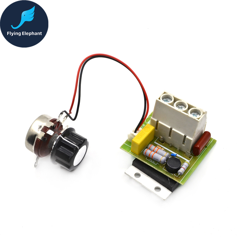 10000W Dimmer Import High Power Silicon Controlled Electronic Voltage Speed Regulator Thermostat