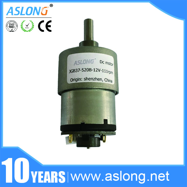 Jgb37 520b with encoder gear motor dc gear motor encoder for Dc gear motor with encoder