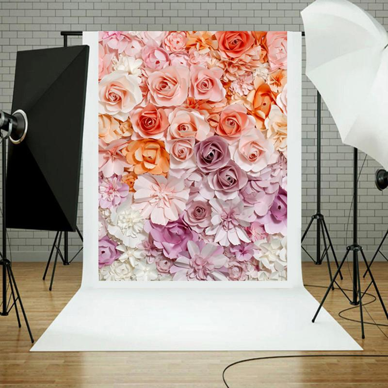 Flower Photography Background Cloth Photo Props Studio Background Cloth Studio Backdrops Photo Props Backdrop Live Room Decor vinyl floral flower newborn backdrops cartoon unicorn photography background studio photo props 5x3ft