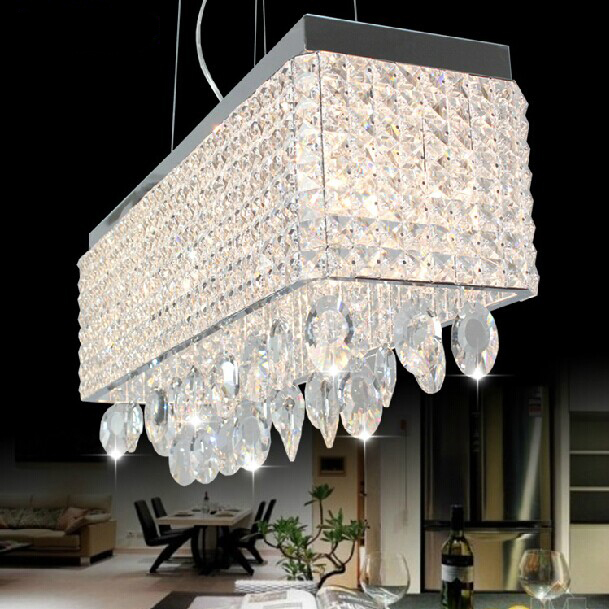 Rectangular dining room light cheap cottage style dining for Rectangular dining room light