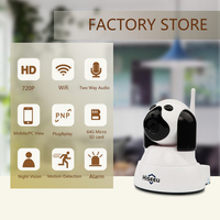 Hiseeu Security Camera Home Security IP Camera Wireless Wi Fi Camera Night Vision CCTV Indoor Smart