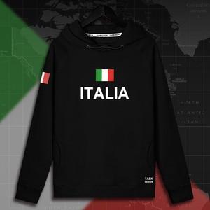 Image 2 - Italy Italia Italian ITA mens hoodie pullovers hoodies men sweatshirt new streetwear clothing Sportswear tracksuit nation flag