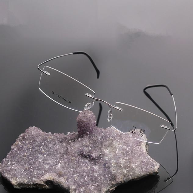f2a1fd70e086 rimless optical frames brand men titanium flexible eyeglasses gold eyeglass  frames plain china frameless eyeglass myopia1004