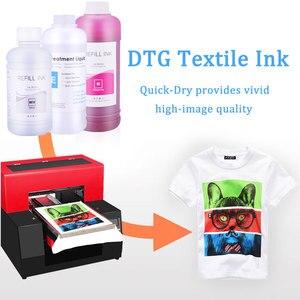 Image 5 - 250ML * 6 DTG 잉크 T50 P50 R290 R330 1390 1410 L800 L1800 R1900 R2000 용 DX5 DX6 DX7 DX9 DX10 헤드 DTG 프린터