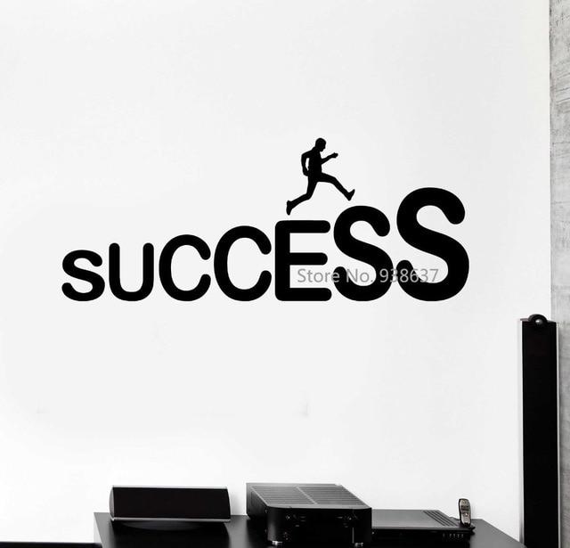 Success Career Ladder Job Wall Stickers Office Decor ...