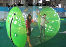 2016 best quality customized water roller ball/ inflatable water game water walking ball for sale