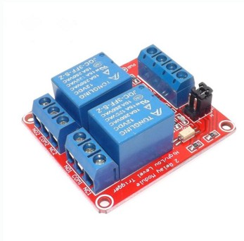 TWO 2 Channel Relay Module With Optocoupler High Low Level Trigger For Arduino DC5V 12V 24V 5v 2 channel ir relay shield expansion board for arduino
