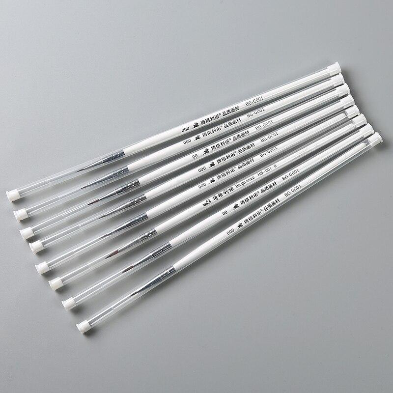Bgln wolf fine hook line pen watercolor drawing pen sketch pen very thin stroke pen nail art fine brush art supplies
