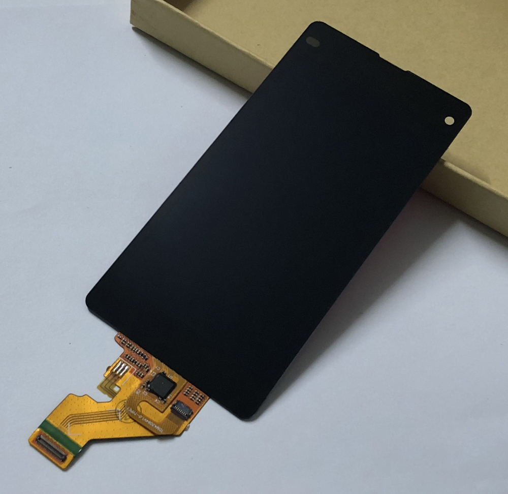 Pour Sony Xperia Z1 Mini Compact D5503 M51W Complet numériseur à écran tactile Capteur de Verre + écran lcd panneau de contrôle de L'assemblée