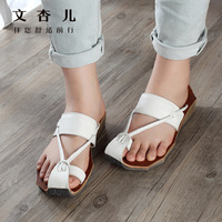 summer product manual leather sandals big yards of leisure shoes, restore ancient ways is Japanese sandals wholesale