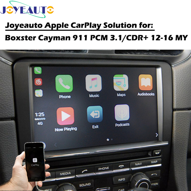 US $377 46 19% OFF|ZHOYITO Smart Auto Car Multimedia CarPlay Box OEM Apple  Carplay Upgrade Retrofit for 2012 2016 Porsche 911 PCM3 1 CDR Plus-in Car