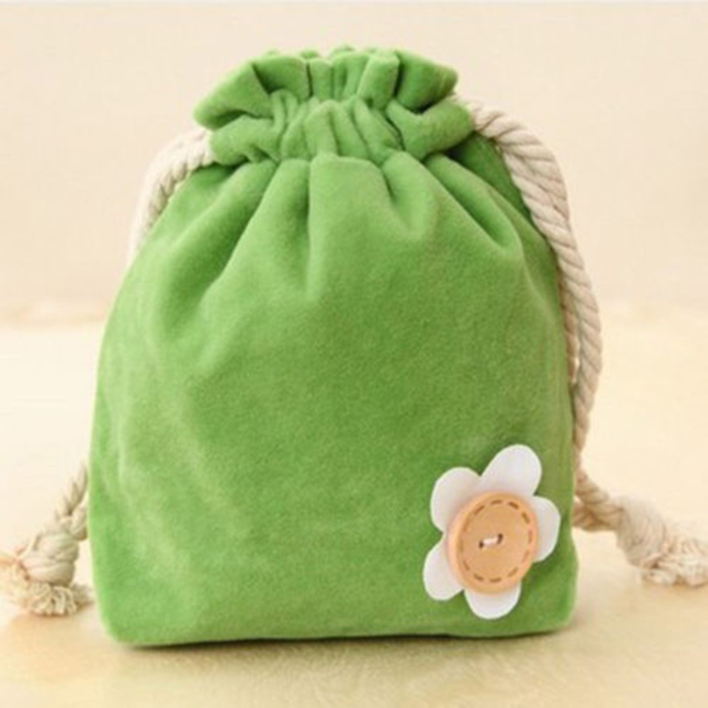 Drawstring Mini Bag Pouch Candy Bags Portable Cotton Storage Package Purse Key Card Cash Gift Bag Wedding Party Favor Jute