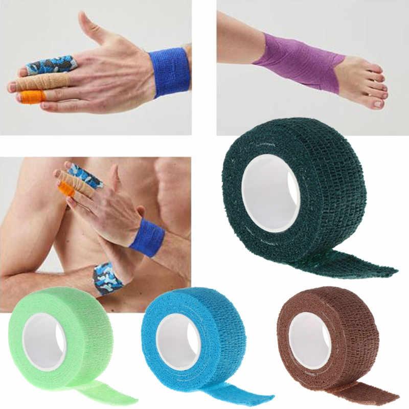 Venta al por mayor vendaje elástico autoadhesivo Primeros Auxilios músculo médico cuidado de la salud deporte de la aptitud