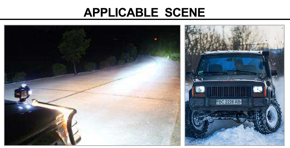 AcooSun Auto truck Offroad driving Lamp DC12V 24V Cree Chip Car Led Working Light 6000k 30W Flood Lamps Waterproof Led Fog Lights (10)