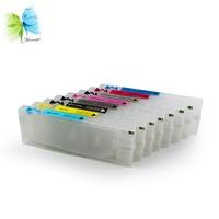 Winnerjet Chip Resetter + 300ml 4880 Ink Cartridge For Epson Stylus pro 4880 Ink Cartridge 8 color