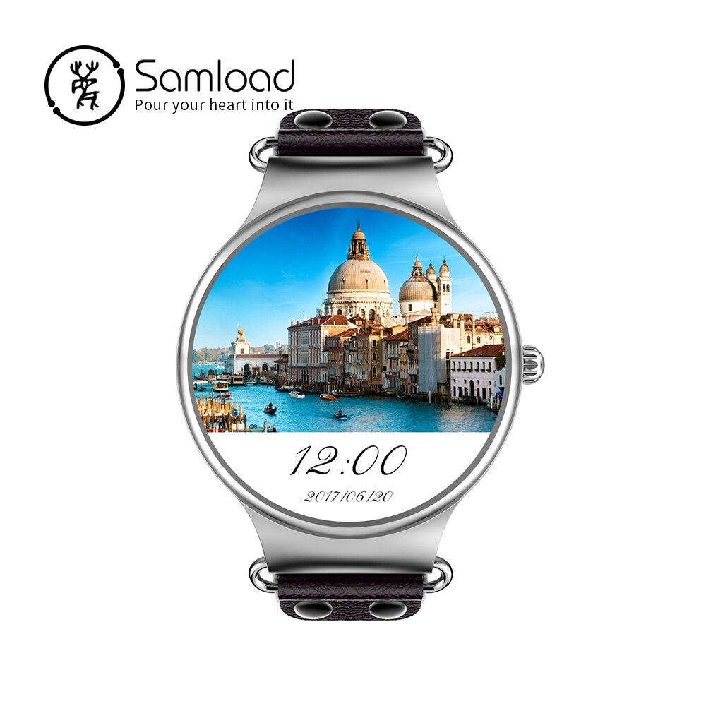 Samнагрузки Смарт часы Android 5,1 3g wifi gps спортивные наручный шагомер погода Пульс Трак для iPhone Xiaomi sony samsung
