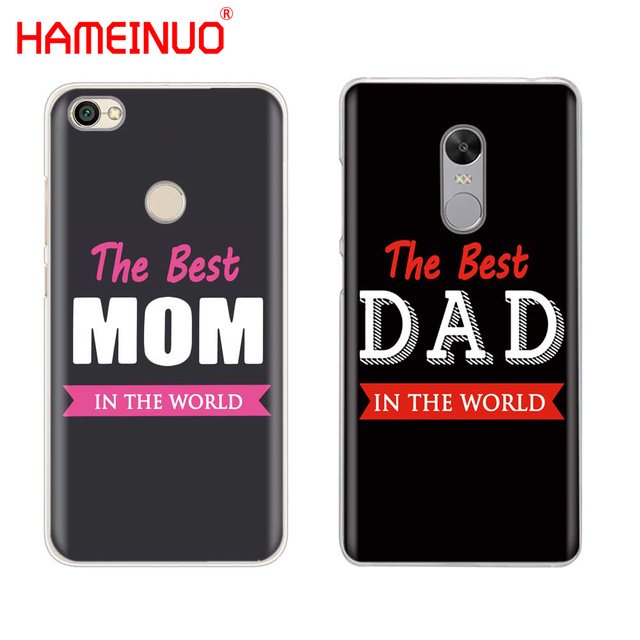 detailed pictures 325ed 35dae US $1.99 32% OFF|HAMEINUO the best MOM DAD Cover phone Case for Xiaomi  redmi 5 4 1 1s 2 3 3s pro redmi note 4 4X 4A 5A-in Half-wrapped Case from  ...