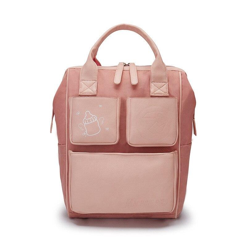 Красивый рюкзак для дамы мать мокрый сумки на плечо детские товары Организатор детской коляски сумка для детей Nappie для детские пеленки