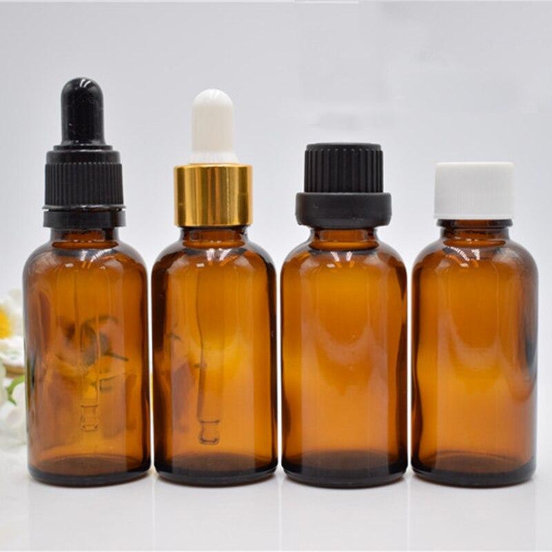 1 pz economici 3 ml Reagente Aromaterapia Liquido Pipetta Contagocce Goccia di Vetro Ambrato