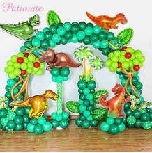 Kids Safari Party Dinosaur Balony Children Birthday Event Accessories Ballon  Mini Inflatable Balloons