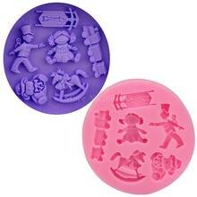 Детская мультяшная игрушка силиконовое мыло для помадки 3d желе