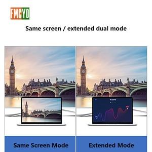 Image 5 - Dizüstü bilgisayar yerleştirme istasyonu All in One USB C HDMI kart okuyucu PD macbook adaptörü Samsung Galaxy S9/S8/ s8 + Tip C HUB