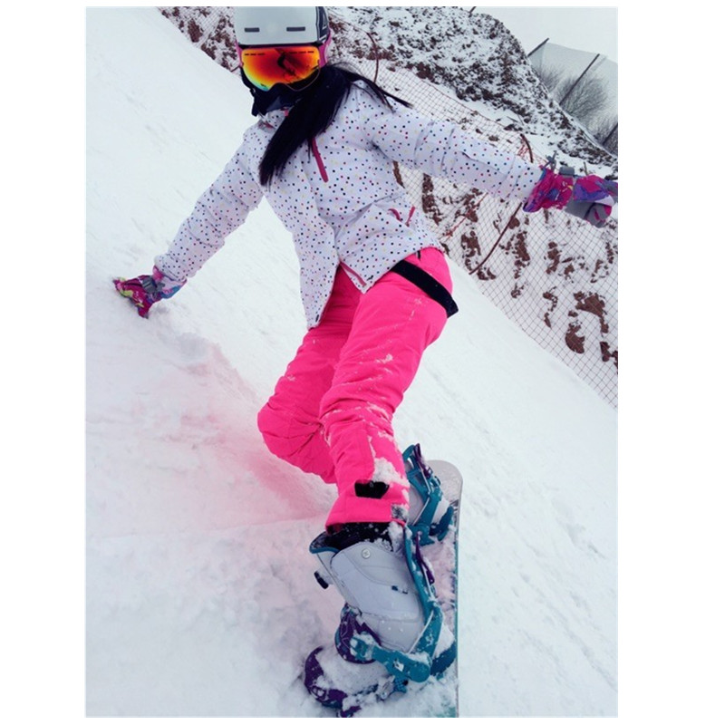10 k leader di vendite giacca invernale femminile tuta da sci giacca e pantaloni outdoor singola tuta da sci impermeabile caldo sci snowboard