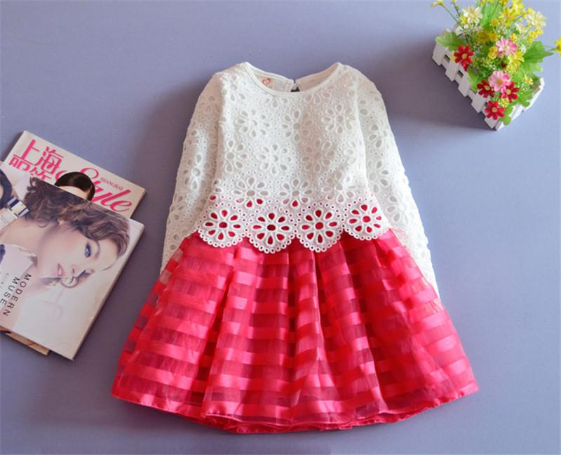 HTB1b79MLXXXXXaIXXXXq6xXFXXX4 - 2017 3-8Y Toddler Baby Girls Kids Tutu Crochet Lace Dress Long Sleeve Princess Dress Girls Clothes Autumn Children Wedding Dress