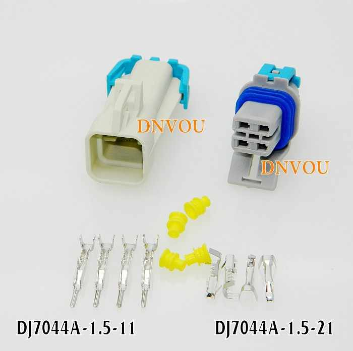 1set Oxygen sensor plug car sensor socket connector DJ7044A-1.5 Electrical Wire connector Plug